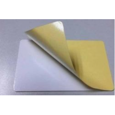 10 mil PVC Card With Adhesive Back Paper (104523-110 (A) )