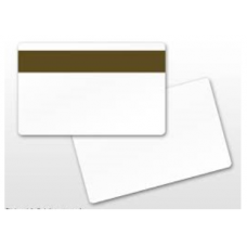 Blank PVC Card with Lo Co Magnetic Stripe (104523-112)