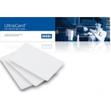 Fargo UltraCard 10 mil PVC Cards With Adhesive paper-backed (822266)