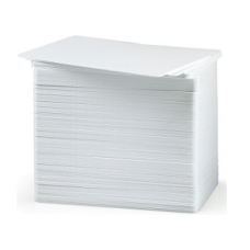 White CR80 30mil Blank Cards