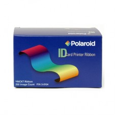 Polaroid Color Front, Black Resin Back Ribbon - YMCKOK