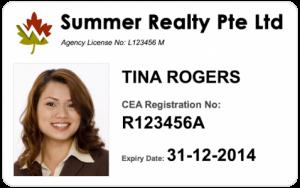 Estate Agent Card